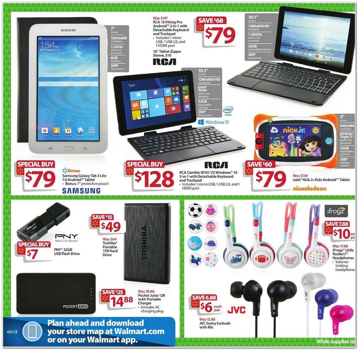 Walmart Black Friday Flyer 2015 Page 4 Tablet
