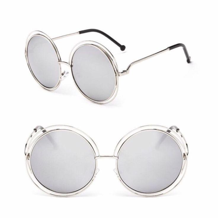 Ochelari rotunzi mari cu lentile oglinda ☀️ AICI >>> https://lebriz.ro/29-ochelari #lebriz #ochelarioglinda #ochelarisoare #ochelari