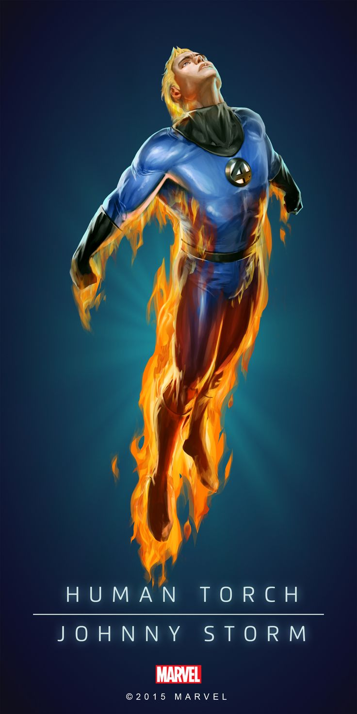 Human Torch Johnny Storm Poster-03                                                                                                                                                                                 More