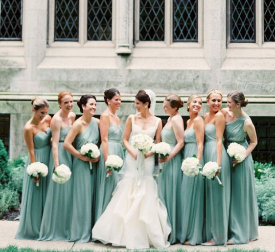 25 best Bridesmaid dresses images on Pinterest | Gray bridesmaids ...