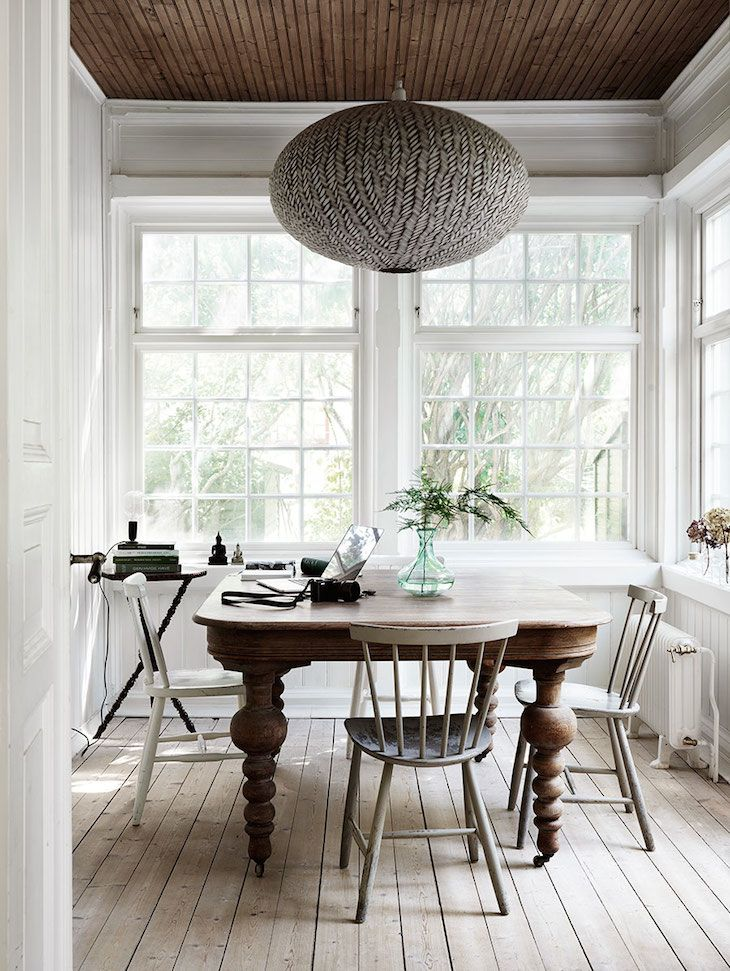 41 Best Dark Table Light Chairs Images On Pinterest