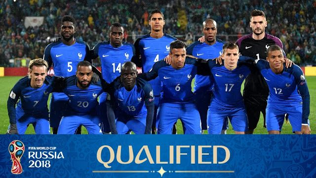 France World Cup 2018 Squad France Has Won The World Cup Only Once In 1998 They Are Starting Their 2018 World C France World Cup 2018 World Cup World Cup 2018