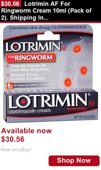 Baby Health And Grooming: Lotrimin Af For Ringworm Cream 10Ml (Pack Of 2). Shipping Included BUY IT NOW ONLY: $30.56