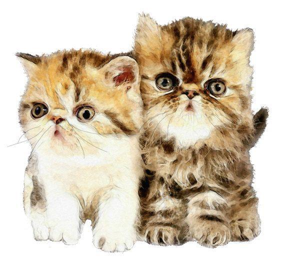 Cute Kittens, Kitten Image, Kitten Cutout,Large Kittens Image,Template, Kids Nursery Room Decor, Wall Art, Kittens, Cat Template by ICreateAndCollect on Etsy