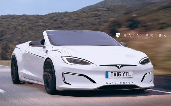 Tesla Model S Convertible  Tesla, ModelS, TeslaModelS, Convertible, ElectricCar