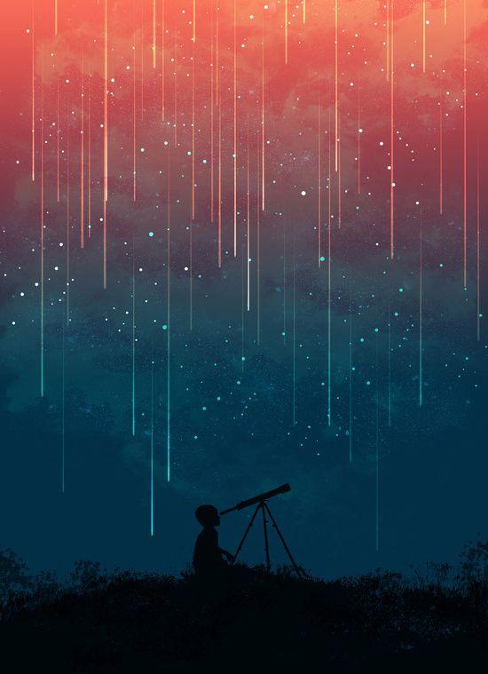 Poster   METEOR RAIN von Budi Kwan