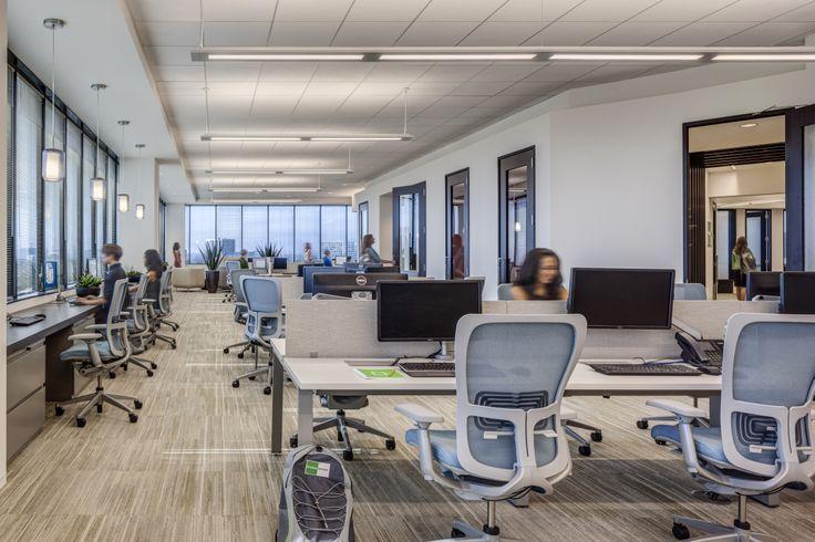 Modern workplace goodman birtcher corporate headquarters irvine california interior - Monster energy corporate office ...
