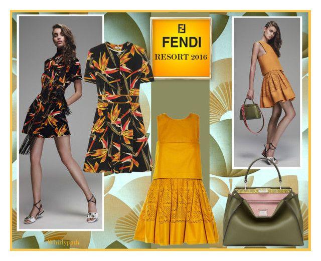 Fendi Resort 2016! by whirlypath on Polyvore featuring Fendi