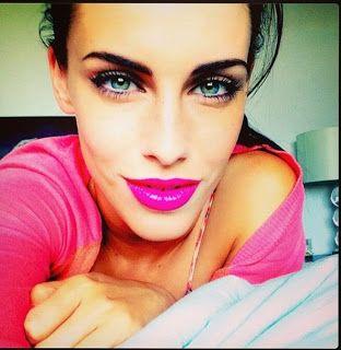 New post #makeup #adrianna #90210 http://hyattsdiary.blogspot.it/2013/11/90210-inspired-make-up-adrianna-tate.html
