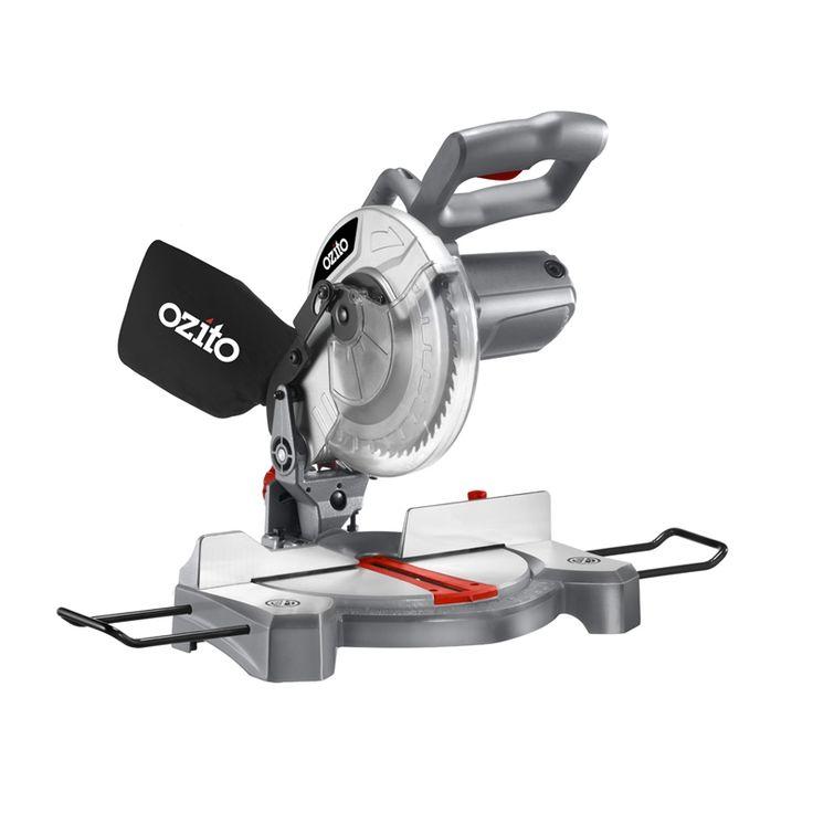 Ozito 1500W 210mm Corded Compound Mitre Saw