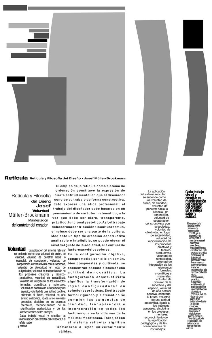 Tipografía II - Cátedra Gaitto - Mancha tipográfica