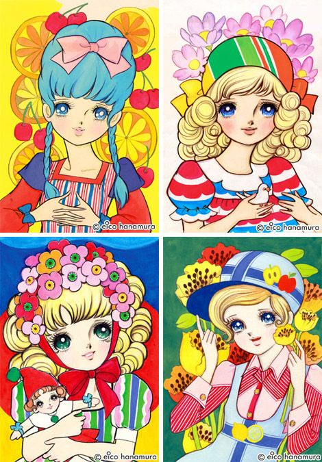 "PingMag - The Tokyo-based magazine about ""Design and Making Things"" » Archive » Cute and Pop! 60s Girls Comics by Eico Hanamura"