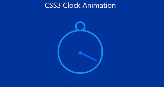 Today we are going to create a animated clock using CSS3. The animation is simple to create using just html and css. Hope everyone of you likes it.