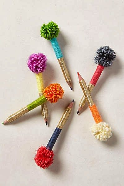 DIY: 30 Adorable DIY Pom-Pom Decorations                                                                                                                                                     More