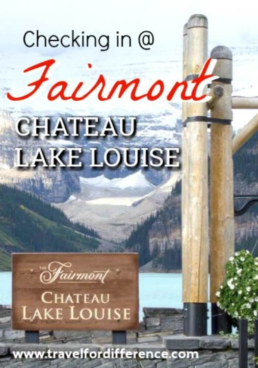 Lake Louise is one of the most famous places in all of Canada, but what is it like to stay at the famous hotel too? Click here to read more about staying at the Fairmont Chateau Lake Louise. #LakeLouise #Canada #Alberta