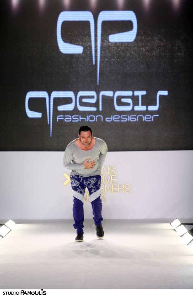 Panos Apergis catwalk