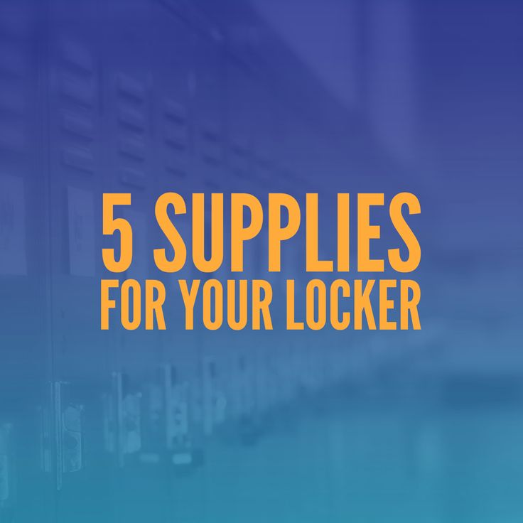 16 DIY Locker Storage and Decoration Tips and Tricks Every High School Student…
