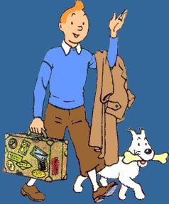 The Second World War and the invasion of Belgium by Hitler's armies saw the closure of the newspaper in which Tintin was serialised. Description from vizanime.blogspot.com. I searched for this on bing.com/images
