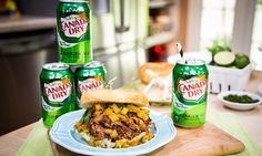 Home & Family - Recipes - Cristina Cooks Pulled Pork With Canada Dry Ginger Ale and Pineapple-Ginger Relish | Hallmark Channel