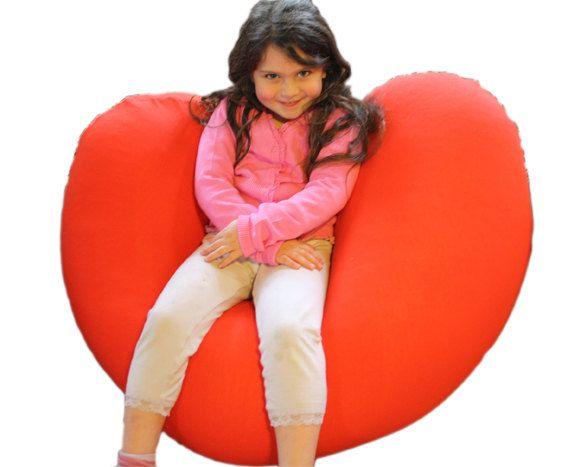 Bean Bag Bags Chair Beanbag Beanbags Heart Shape By Pomfitis