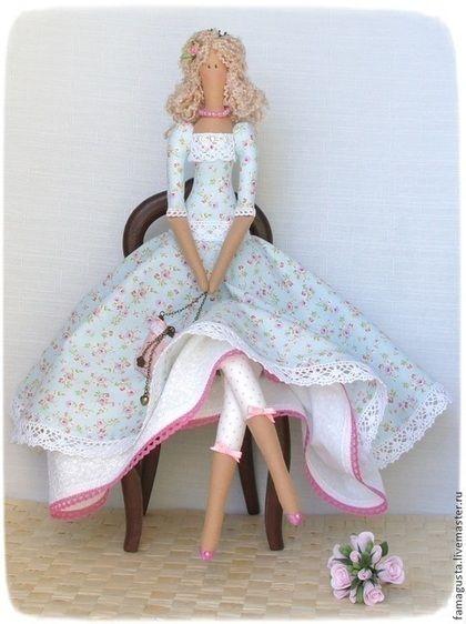 Куклы Тильды ручной работы. Ярмарка Мастеров - ручная работа Тильда  Аngel Diana (божественная, небесная). Handmade.