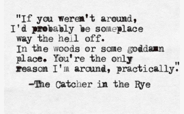 17 Best Images About The Catcher In The Rye On Pinterest