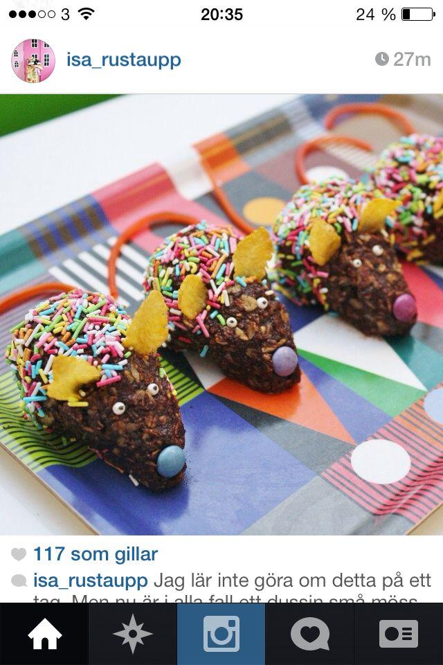 Chokladbollsmöss