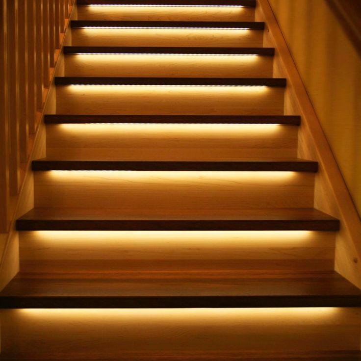 Automatisk LED belysning hos kunde på Lysaker.