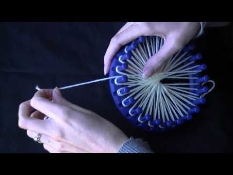 How to Make a Flower on a Circular Loom - Part 2 of 3