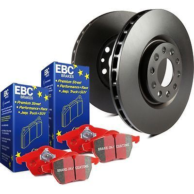 EBC 2-Wheel Set Brake Disc and Pad Kits Front New for Subaru Legacy S12KF1443