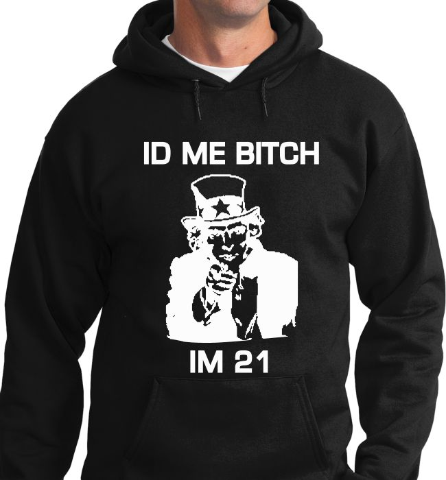 Quality Hoodies and tees..Click here http://zapbest2.myshopify.com/collections/funny/products/id-me Made just for you! Printed in USA Fast Shipping! In Stock
