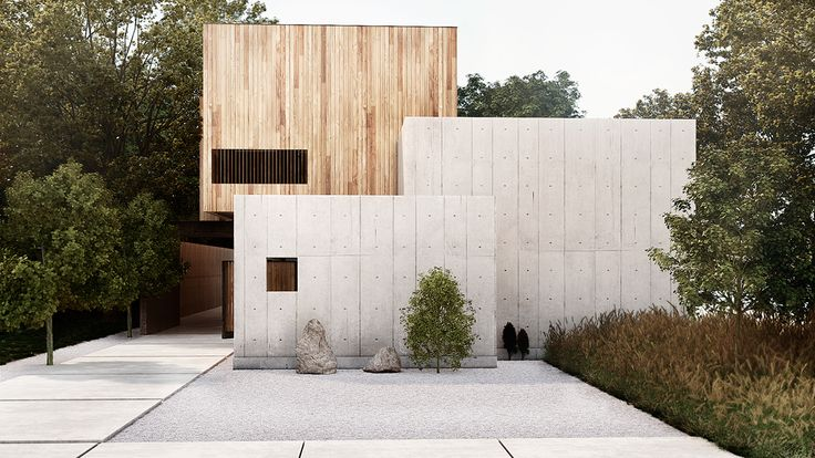 "We want to share with you a non-commissioned project, which was made bit by bit.It's based on Robertson Design´s ""Concrete Box House"" www.robdes.com"