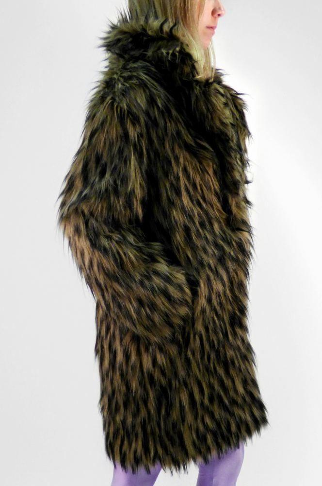 Hyeana Faux Fur
