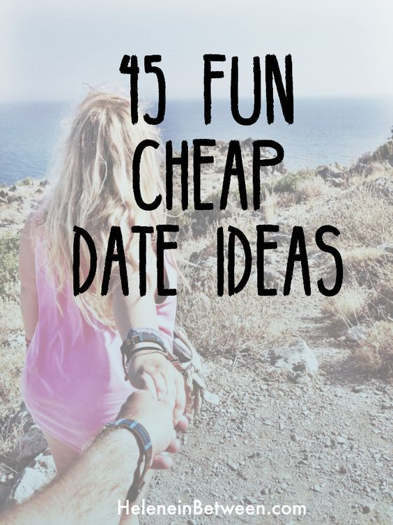 45 Fun, Cheap Date Ideas for you and your favorite dates. Seriously, these won't break the bank, and you'll have fun doing them! These are the perfect date ideas that everyone should totally try, whether you're a new couple or married!