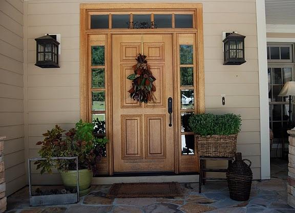 rustic front porch