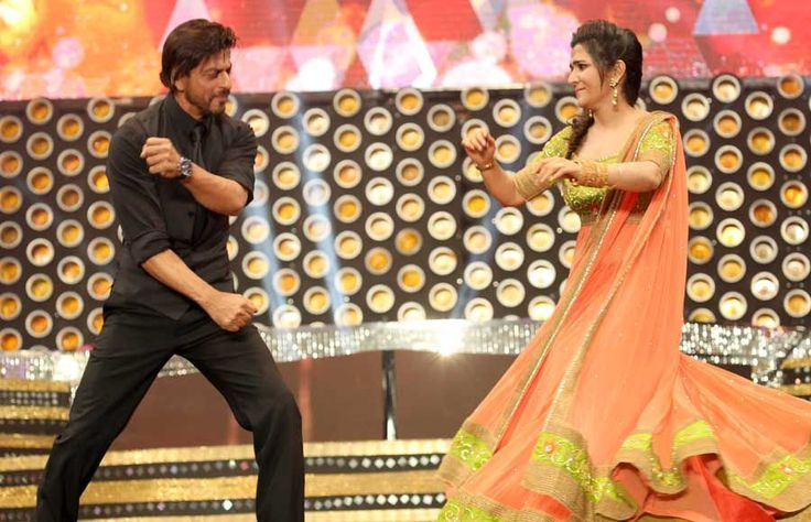 DD With Shahrukh Khan Dance Performance at Vijay Awards 2014