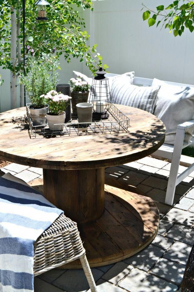 small patio on a budget simple diy projects and inexpensive and rh pinterest com