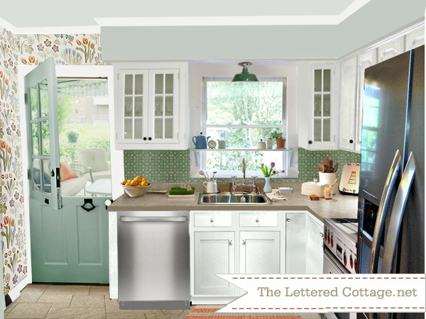 99 Best Images About Cottage Kitchens On Pinterest Stove