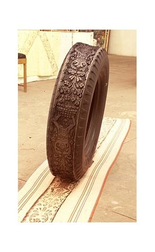 tire stamp
