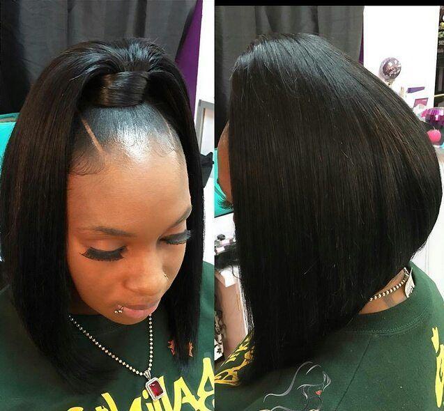 Black Hair Weave Ponytail Hairstyles 61