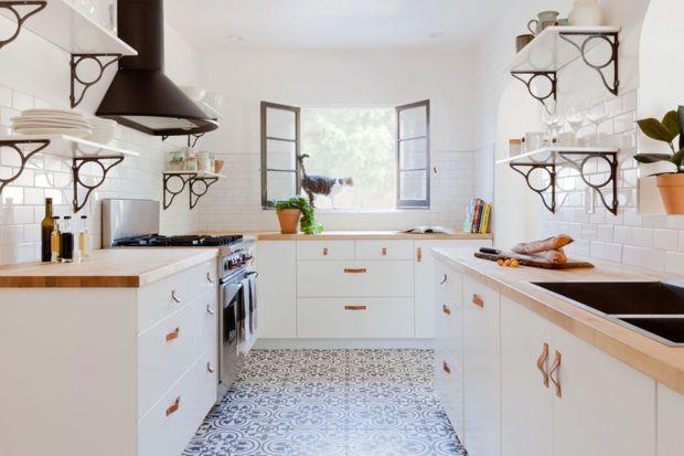 Die besten 17 Bilder zu My kitchen white auf Pinterest Regale - Kleine Küche Einrichten Tipps