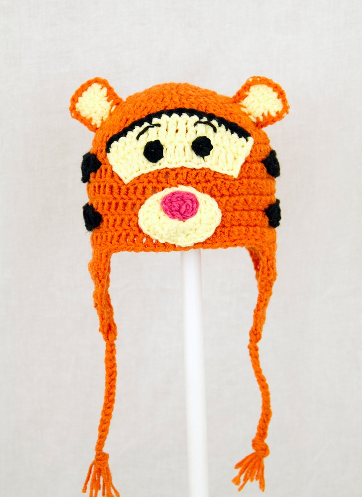Tigger Earflap Hat from Winnie the Pooh
