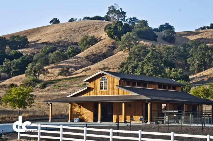 types of barnes   Custom Monitor Barn In Morgan Hill, California