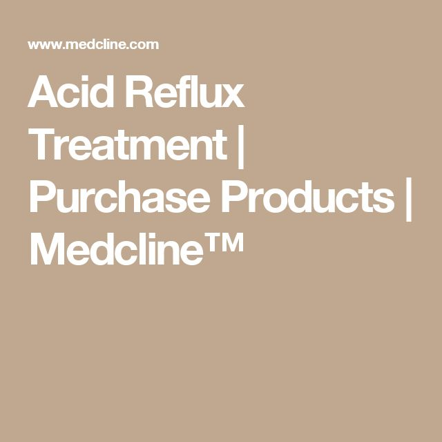 Acid Reflux Treatment | Purchase Products | Medcline™