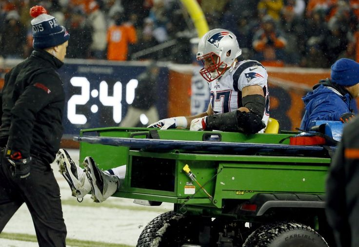 Patriots get good news on Gronkowski  -     The tight end who was injured in New England's first loss of the season, reportedly doesn't have a ligament tear in his knee.
