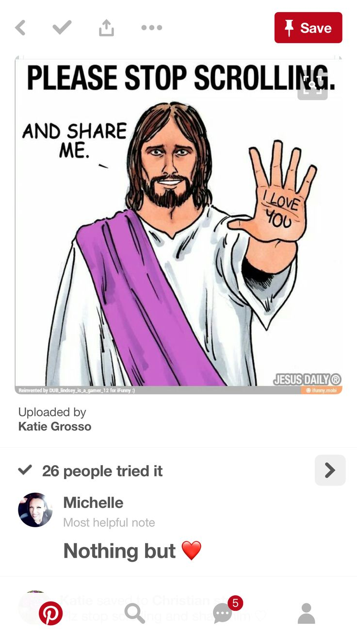 Pass on Jesus