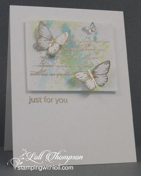 Embossing with Uncoloured Images