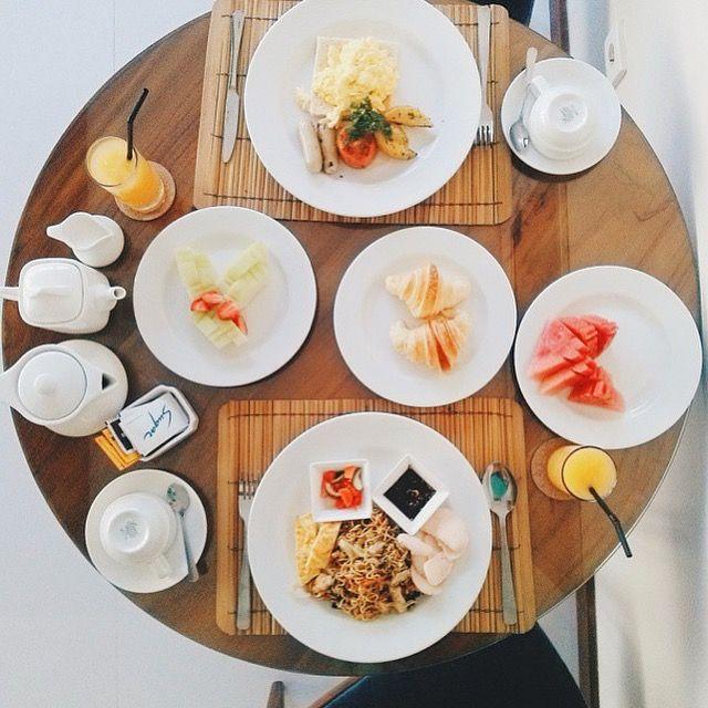 Breakfast at your private villa at The Grove Villas and Spa Bali..