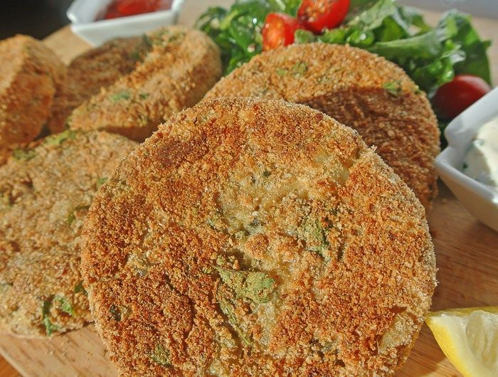 Baked Cod Cakes