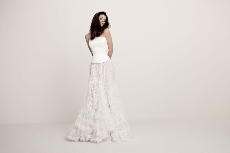 Daalarna Couture Wedding Dres  _ White Collection